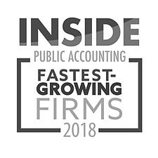 IPA Fastest Growing Firm 2018 logo