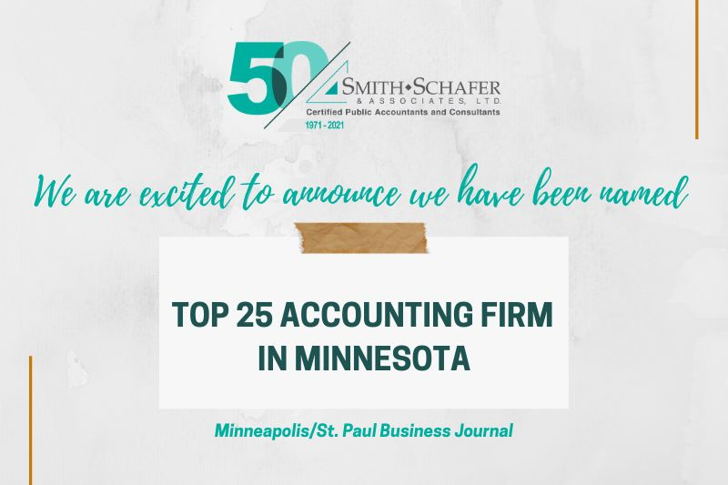 Top 25 Accounting Firm award photo